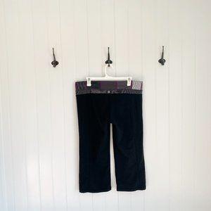 Lululemon Cropped Wide Leg Yoga Pants
